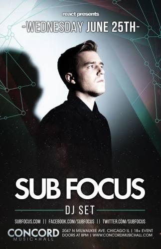 Sub Focus @ Concord Music Hall