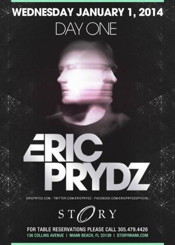 Eric Prydz @ STORY Miami (01-01-2014)
