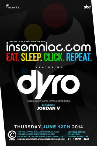 Dyro at Create Nightclub