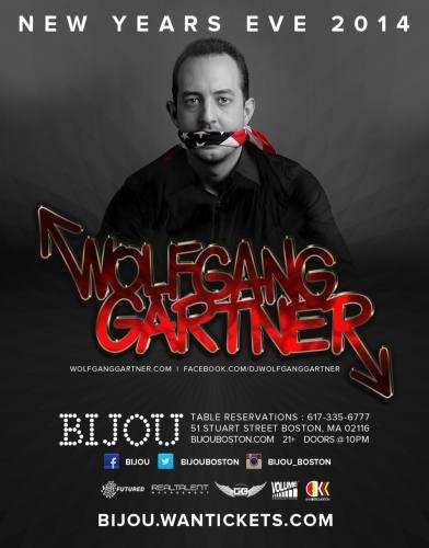 Wolfgang Gartner @ Bijou Nightclub