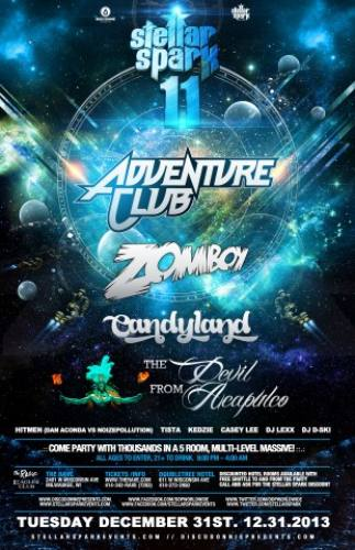 Stellar Spark 11 w/ Adventure Club, Zomboy, & Candyland