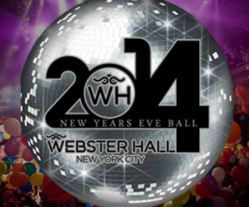 The New Year's Eve Ball 2014 ft Wolfgang Gartner @ Webster Hall