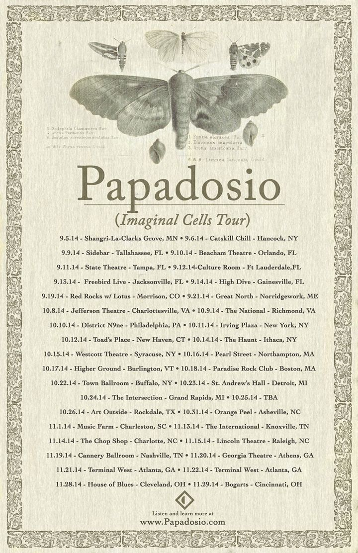papadosio @ house of blues cleveland (11-28-2014) (cleveland, oh) | ti