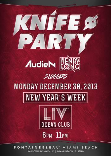 Knife Party @ Ocean Club (12-30-2013)