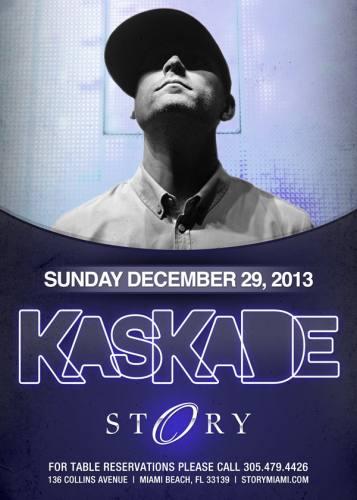 Kaskade @ STORY Miami (12-29-2013)