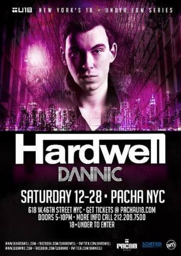 Hardwell @ Pacha NYC (12-28-2013)
