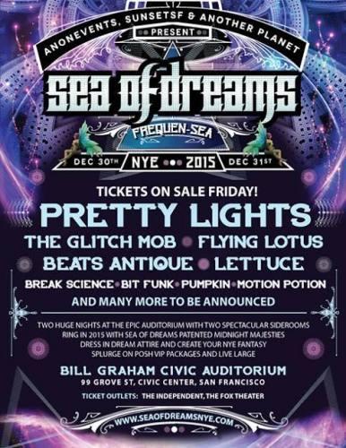 Sea of Dreams NYE 2015: FrequenSea