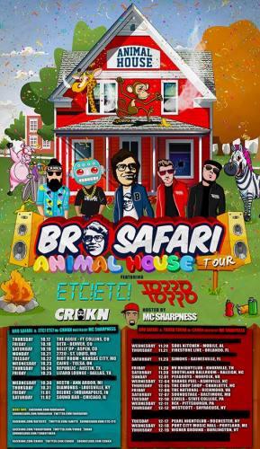 Bro Safari, Torro Torro, & CRNKN @ Oakdale Theatre