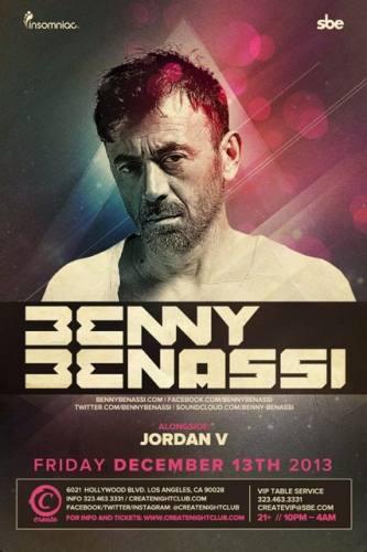 Benny Benassi at create