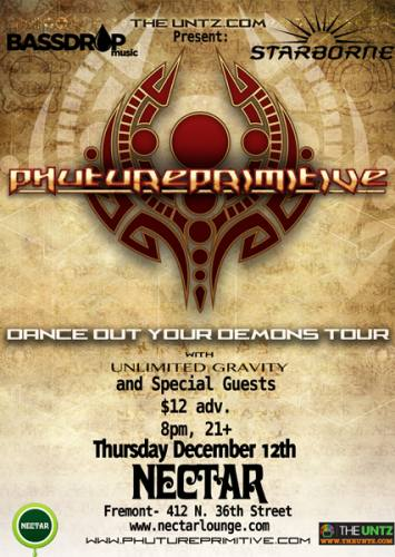 PHUTUREPRIMITIVE : Dance Out Your Demons Tour
