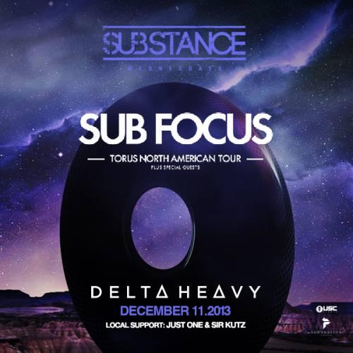 Sub Focus w/ Delta Heavy @ Foundation Nightclub