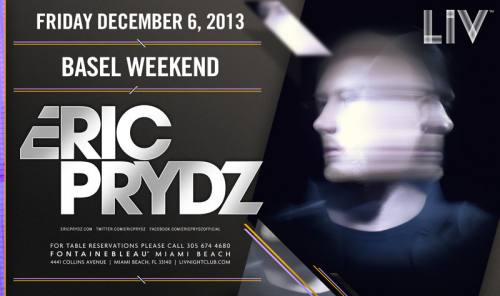 Eric Prydz @ LIV Nightclub
