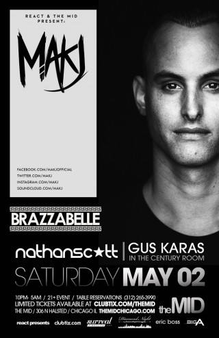 5 2 makj brazzabelle the mid chicago il tickets for Table 52 chicago dress code