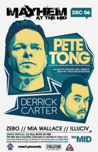 12.6 Pete Tong - Derrick Carter at The Mid Chicago