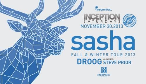 Inception with Sasha  at Exchange LA