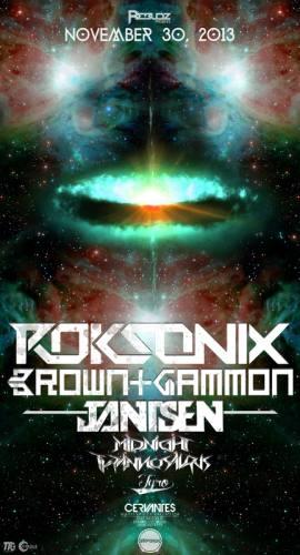 Roksonix & Brown and Gammon @ Cervantes
