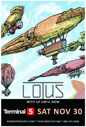 Lotus w/ Up Until Now @ Terminal 5