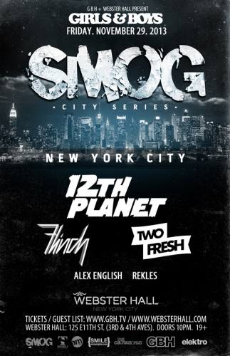 12th Planet @ Webster Hall (11-29-2013)