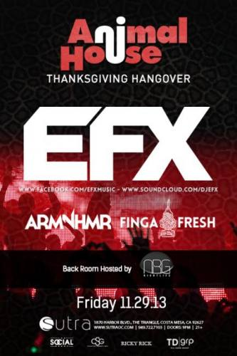 EFX at Sutra
