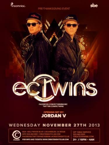 EC Twins at Create