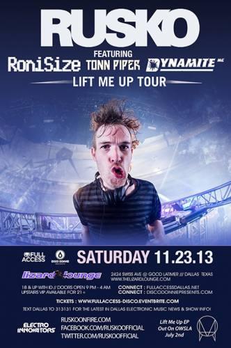 Rusko @ Lizard Lounge (11-23-2013)