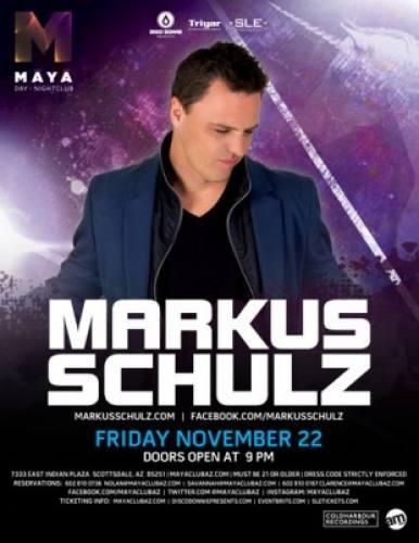 Markus Schulz @ Maya Day and Nightclub