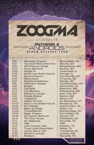 Zoogma @ Jupiter Bar