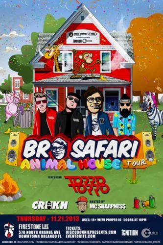 Bro Safari @ Firestone Live