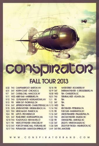 Conspirator @ Lincoln Theatre (11-21-2013)