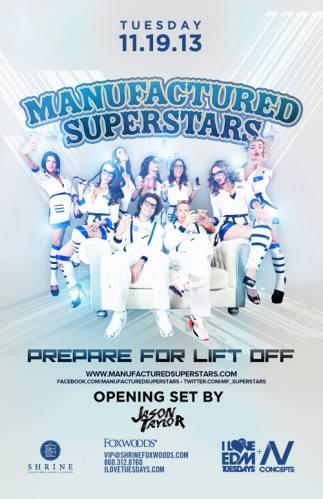Manufactured Superstars @ Shrine at MGM Grand