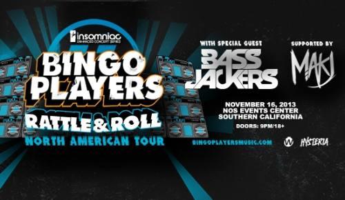 Bingo Players at Nos