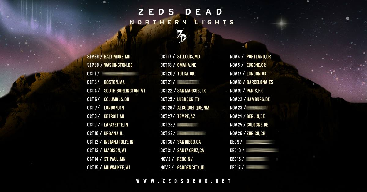 Zeds Dead @ Masonic Temple (Detroit, MI) | Tickets
