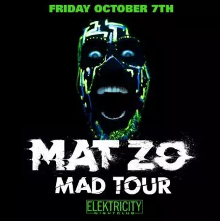 Mat Zo @ Elektricity (10-07-2016) (Pontiac, MI) | Tickets