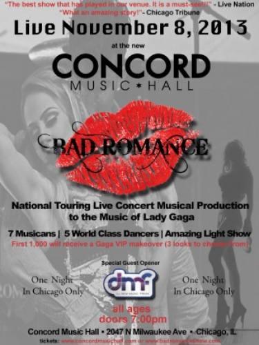11.08 BAD ROMANCE @ CONCORD
