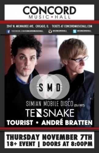 Simian Mobile Disco @ Concord Music Hall