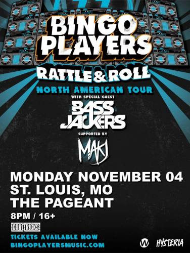Bingo Players @ The Pageant