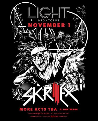 Skrillex @ Light Nightclub (11-01-2013)
