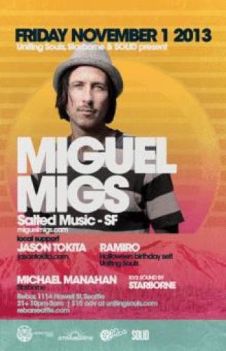 Miguel Migs @ Re-bar