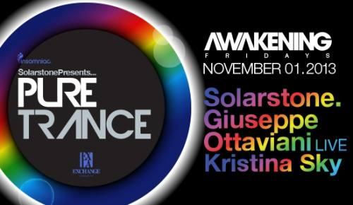 Awakening with Solarstone, Giuseppe Ottavian at Exchange LA