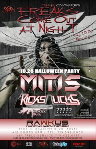 MitiS & KicksnLicks @ Rawkus