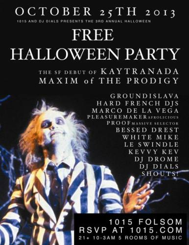 FREE HALLOWEEN PARTY