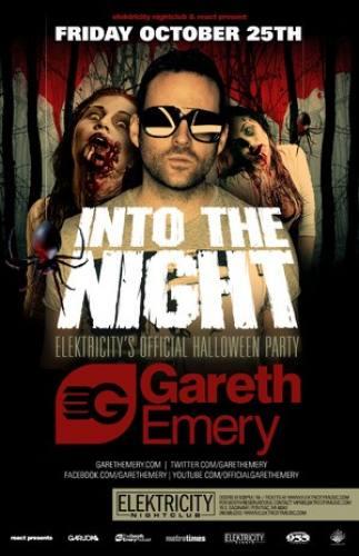 10.25 - GARETH EMERY @ ELEKTRICITY