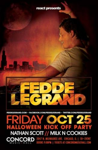 Fedde Le Grand @ Concord Music Hall