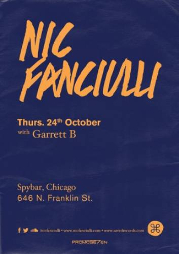 Nic Fanciulli @ Spybar (10-24-2013)