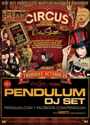 Pendulum (DJ) @ Ruby Skye
