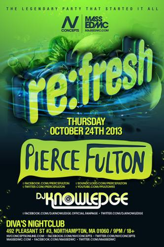 Pierce Fulton @ Diva's Nightclub