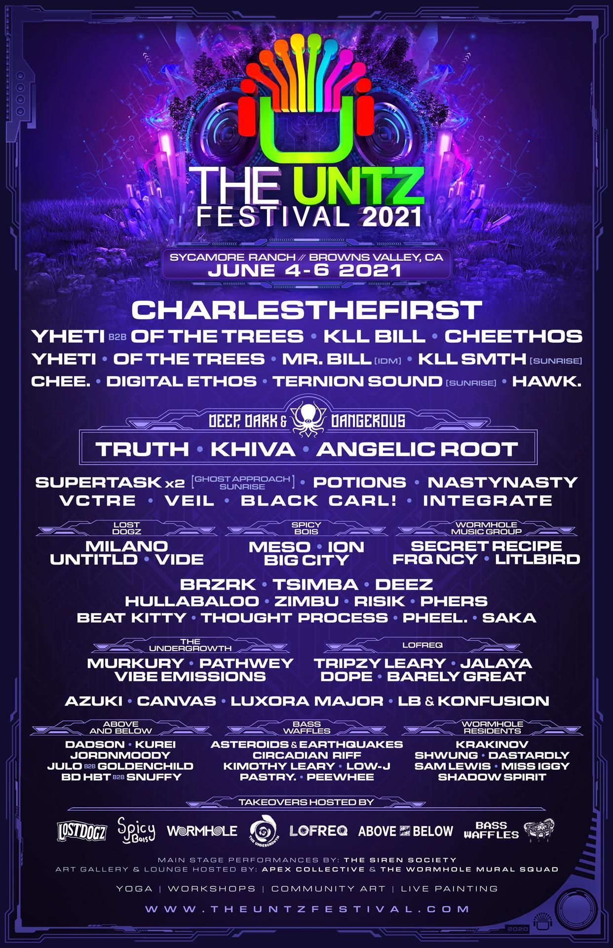 The Untz Festival 2021 (Browns Valley, CA)   Tickets