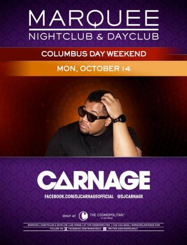 Carnage @ Marquee Nightclub