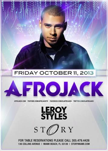 Afrojack @ STORY Miami