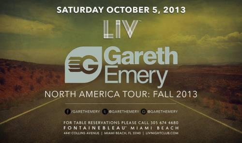 Gareth Emery @ LIV Nightclub